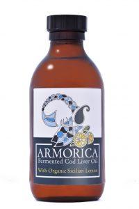 Armorica fermented cod liver oil with Sicilian Lemon 200ml